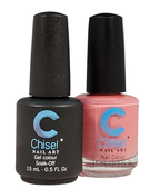 Chisel Matching Gel + Lacquer .5 oz - SOLID20