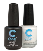 Chisel Matching Gel + Lacquer .5 oz - SOLID24
