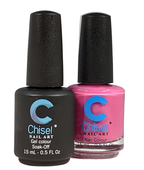 Chisel Matching Gel + Lacquer .5 oz - SOLID28