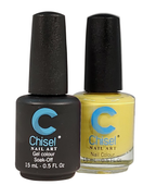 Chisel Matching Gel + Lacquer .5 oz - SOLID45