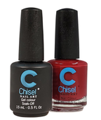 Chisel Matching Gel + Lacquer .5 oz - SOLID54