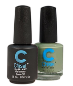 Chisel Matching Gel + Lacquer .5 oz - SOLID64