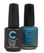 Chisel Matching Gel + Lacquer .5 oz - SOLID74