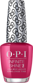 OPI Infinite Shine - #HRL35 All About The Bows - Holiday Hello Kitty .5 oz