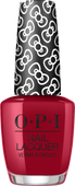 OPI Lacquer - #HRL05 A Kiss On The Chic - Holiday Hello Kitty .5 oz