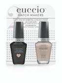 Cuccio Match Makers - #CCMM-1097 (6118) Cream & Sugar