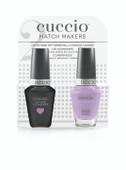 Cuccio Match Makers - #CCMM-1105 (6138) Peace, Love & Purple