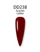 iGel 3in1 (GEL+LACQUER+DIP) - DD238 Scarlet Letter