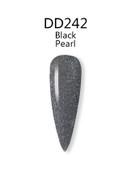 iGel 3in1 (GEL+LACQUER+DIP) - DD242 Black Pearl