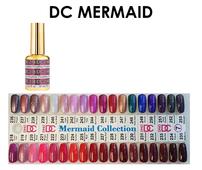 DND DC Mermaid Gel .6 oz - Set - 35 Colors (#218 - #253. out stock #242) FREE SAMPLE TIP SET (Net $6.50/ea)