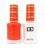 DND Duo Gel - #760 RUSSET ORANGE