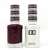 DND Duo Gel - #768 METALLIC PLUM