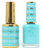 DND DC Duo Gel - #257 Mermaid Blue