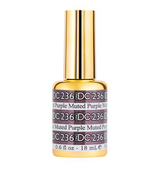 DND DC Mermaid Gel - 236 Muted Purple