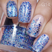 Nail Art Glitter 1oz #014