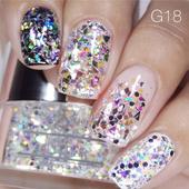 Nail Art Glitter 1oz #018