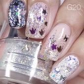 Nail Art Glitter 1oz #020