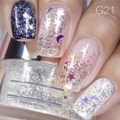 Nail Art Glitter 1oz #021