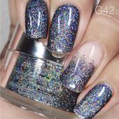 Nail Art Glitter 1oz #042