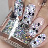 Nail Art Glitter 1oz #098