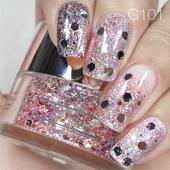 Nail Art Glitter 1oz #101