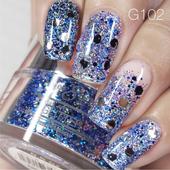 Nail Art Glitter 1oz #102