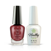 SNS 2in1 Master Match(GEL+LACQUER) - #344 RED WINE VINEGAR