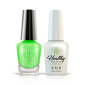 SNS 2in1 Master Match(GEL+LACQUER) - #372 GORGEOUS GREEN