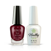 SNS 2in1 Master Match(GEL+LACQUER) - #WW03 KISS AT MIDNIGHT