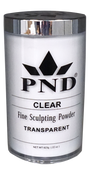PND Acrylic Powder (Fine Sculpting Powder) - Clear 22 oz.