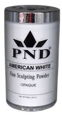 PND Acrylic Powder (Fine Sculpting Powder) - American White 22 oz.