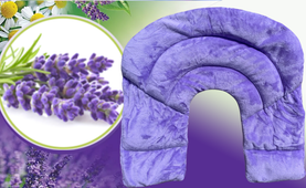 2E Organic - Healing Herbal Wraps  - Herbal Inner Neck Wrap - Lavender