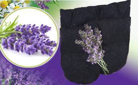 2E Organic - Healing Herbal Wraps  - Herbal Inner Gloves - Lavender