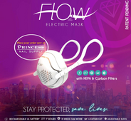 O2Flow Electronic Face Mask