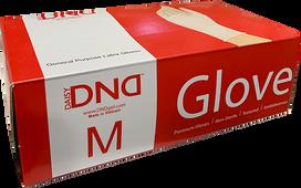 DND Latex Glove 100/Box - Medium Size