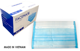 Disposable GMT 4 Ply  Face Mask Box/50pc