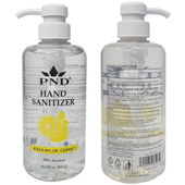 Hand Sanitizer 70% Alcohol 16.9oz with Pump, Box/24pcs