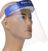 Face Shield Pre packed of 10pcs (Net $1.50 each)