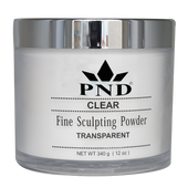 PND Acrylic Powder (Fine Sculpting Powder) - Clear 12oz