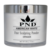 PND Acrylic Powder (Fine Sculpting Powder) - American White 12oz