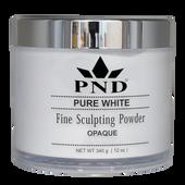 PND Acrylic Powder (Fine Sculpting Powder) - Pure White  12oz