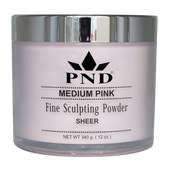 PND Acrylic Powder (Fine Sculpting Powder) - Medium Pink 12oz