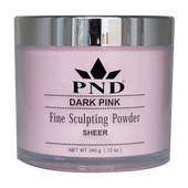PND Acrylic Powder (Fine Sculpting Powder) - Dark Pink 12oz