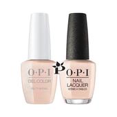 OPI Duo - GCE95  + NLE95 - Pretty in Pearl  .5 oz
