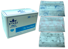 Disposable  3 Ply Kid Face Mask Box/50pc. Choose your color