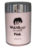 Wave Dip & Acrylic Powder - Pink 16oz