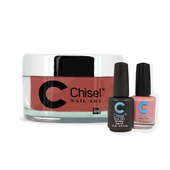 Chisel Combo 3 in 1: Dip + Gel + Lacquer  - SOLID18