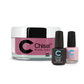 Chisel Combo 3 in 1: Dip + Gel + Lacquer  - SOLID21