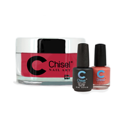 Chisel Combo 3 in 1: Dip + Gel + Lacquer  - SOLID23