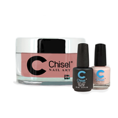 Chisel Combo 3 in 1: Dip + Gel + Lacquer  - SOLID35